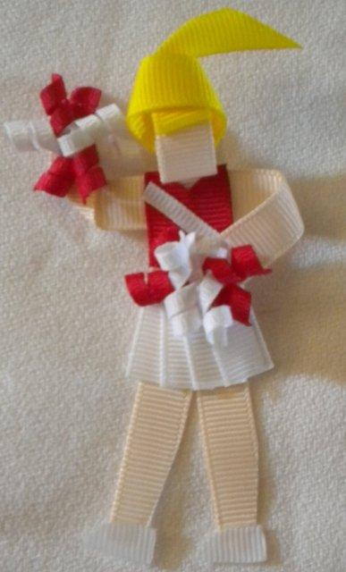 University of Oklahoma Cheerleader Clippie