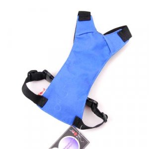 MEDIUM SIZE BLUE DOG PET SAFETY SEAT BELT CAR HARNESS YL012-M