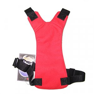 SMALL SIZE RED DOG PET SAFETY SEAT BELT CAR HARNESS YL018-S