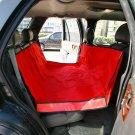 RED WATERPROOF HAMMOCK Pet Car Seat Cover Dog Mat Blanket YL022