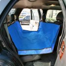 BLUE WATERPROOF HAMMOCK Pet Car Seat Cover Dog Mat Blanket YL025