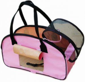 Comfort Carrier Large Pet Dog Cat Soft Travel Tote Pink A0036