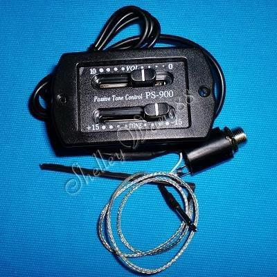 Guitar Passive Volume & Tone Control & Piezo Pickup 10151