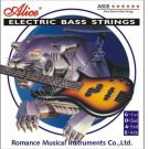New Alice A606-L Electric Bass Guitar 4 Strings Set Nickel Plated Steel Core 10382