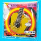 New Alice Black Nylon Classical Guitar Gold-Plated Strings Set A107BK-H A0314