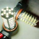 2x 120 SMD H8 H11 Car Vehicle LED White Fog Light Bulb New 10238