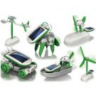 ECO 6 in 1 Educational Solar Powered DIY Kit Toy Robot 10298