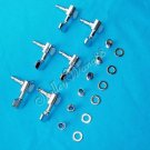 6 Chrome Guitar String Tuning Peg Machine Head Left Handed 10250