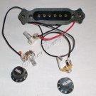 Noiseless Good Balance Guitar Magnetic Acoustic Pickup 10159