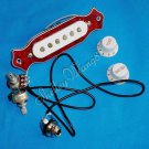 Red Noiseless Good Balance Guitar Magnetic Acoustic Pickup 10224