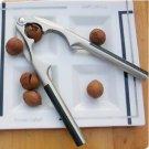 NonSlip Metal Opener Nut Cracker Sheller Walnut Plier A0279