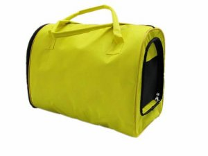 Pet Carrier Dog Cat Soft Travel Tote Comfort Tent Airline Approved Yellow A0737