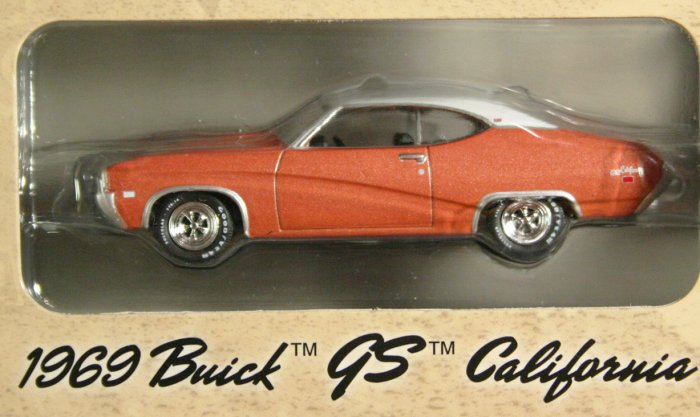 GreenLight Route 66 1969 Buick GS California