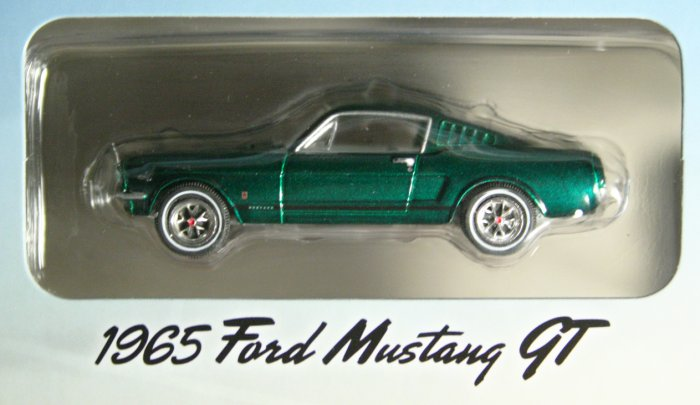 GreenLight Route 66 1965 Ford Mustang GT GREEN MACHINE