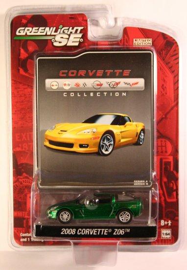 GreenLight Corvette Collection 2008 Corvette Z06 GREEN MACHINE