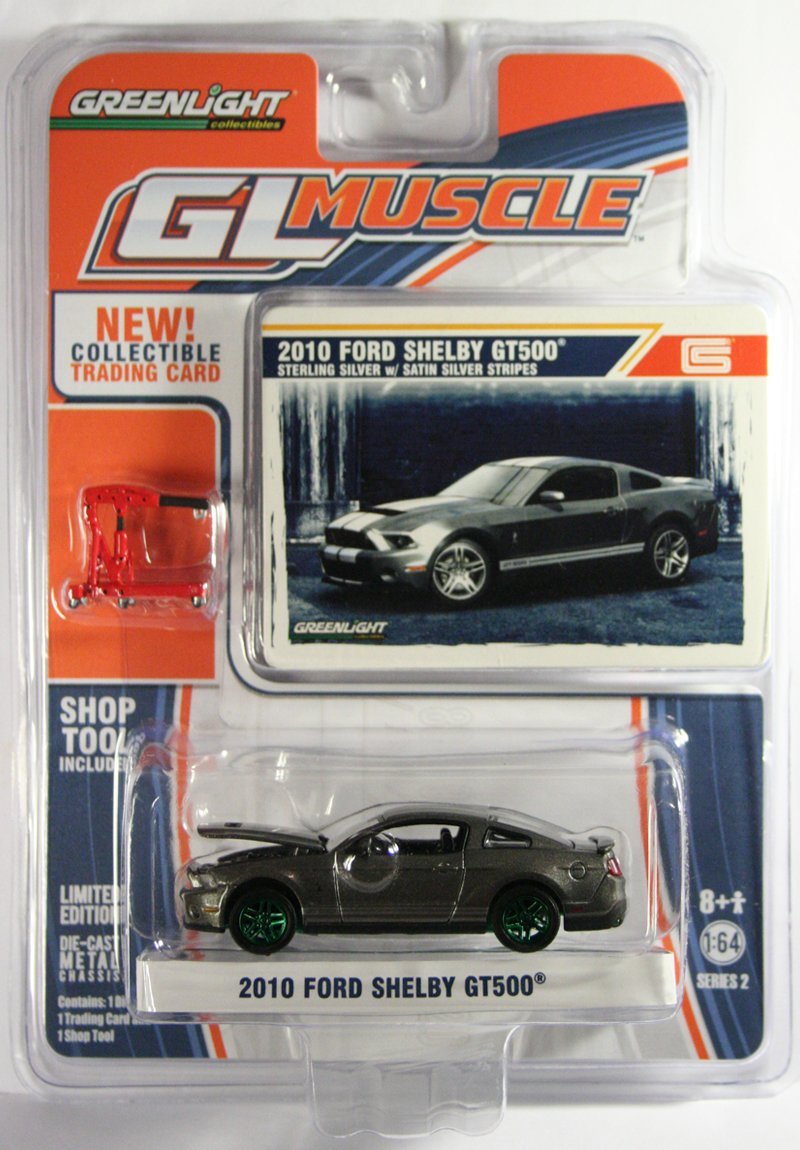 GreenLight 2010 Ford Shelby GT500 GREEN MACHINE