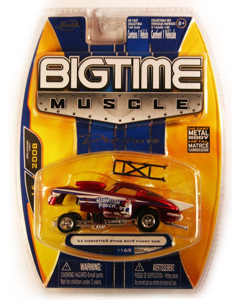 Jada BigTime Muscle 1963 Corvette Sting Ray Funny Car