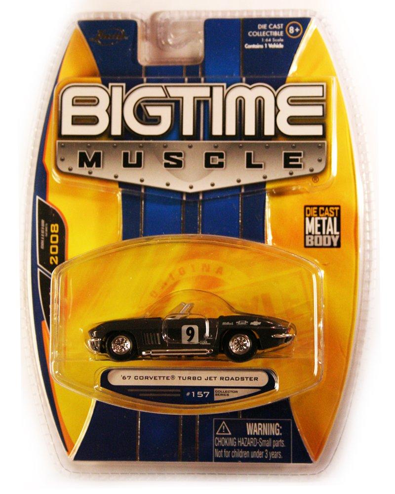 Jada BigTime Muscle 1967 Corvette Turbo Jet Roadster