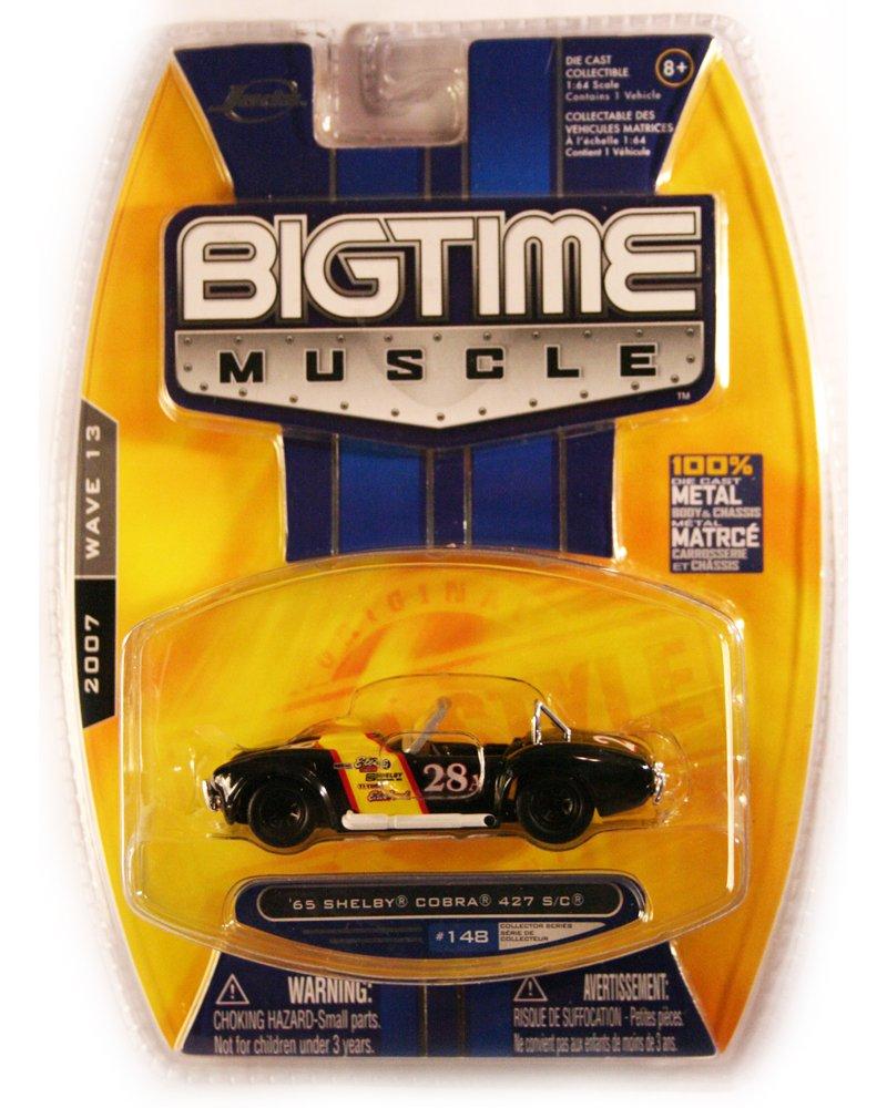 Jada BigTime Muscle 1965 Shelby Cobra 427 S/C
