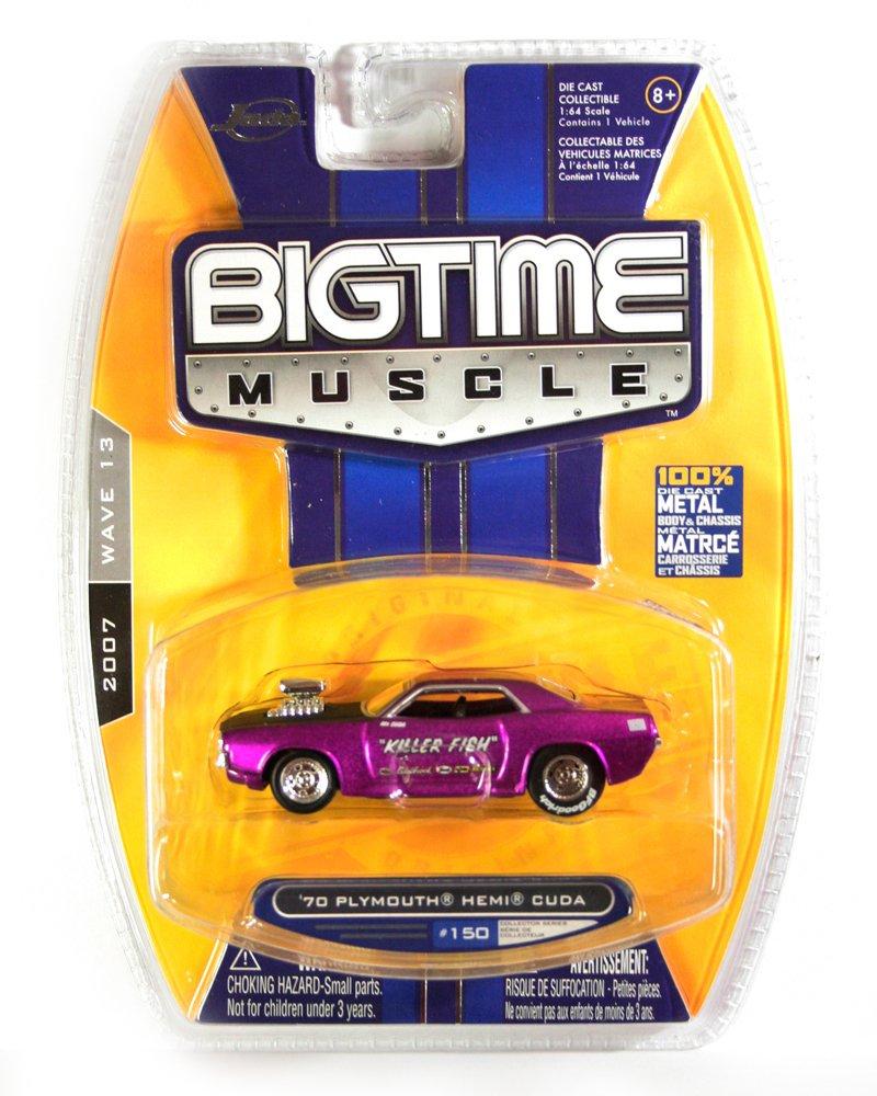Jada BigTime Muscle 1970 Plymouth HEMI Cuda