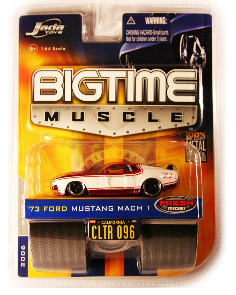 Jada BigTime Muscle 1973 Ford Mustang Mach 1
