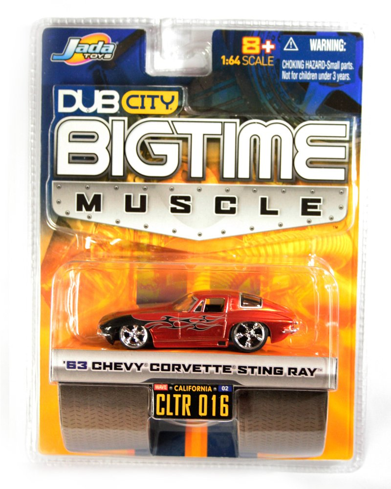 Jada BigTime Muscle 1663 Chevy Corvette Sting Ray