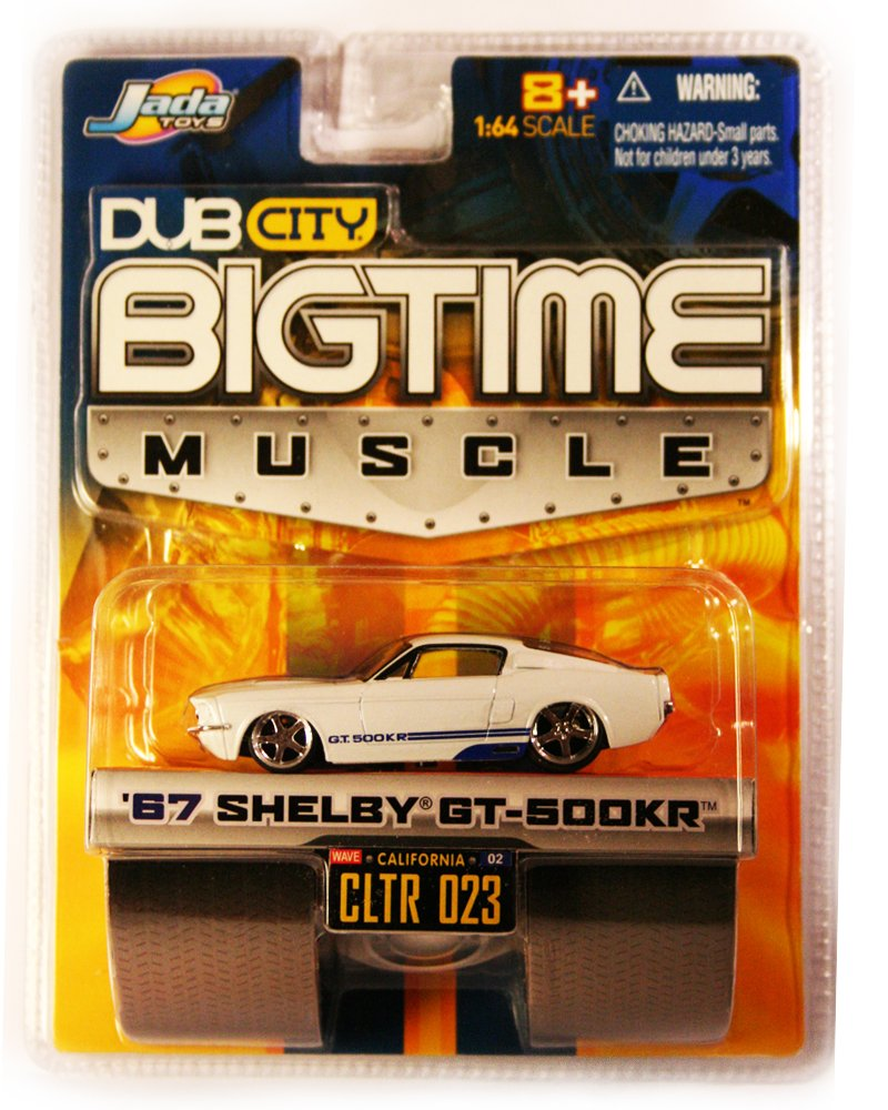 Jada BigTime Muscle 1967 Shelby GT-500KR