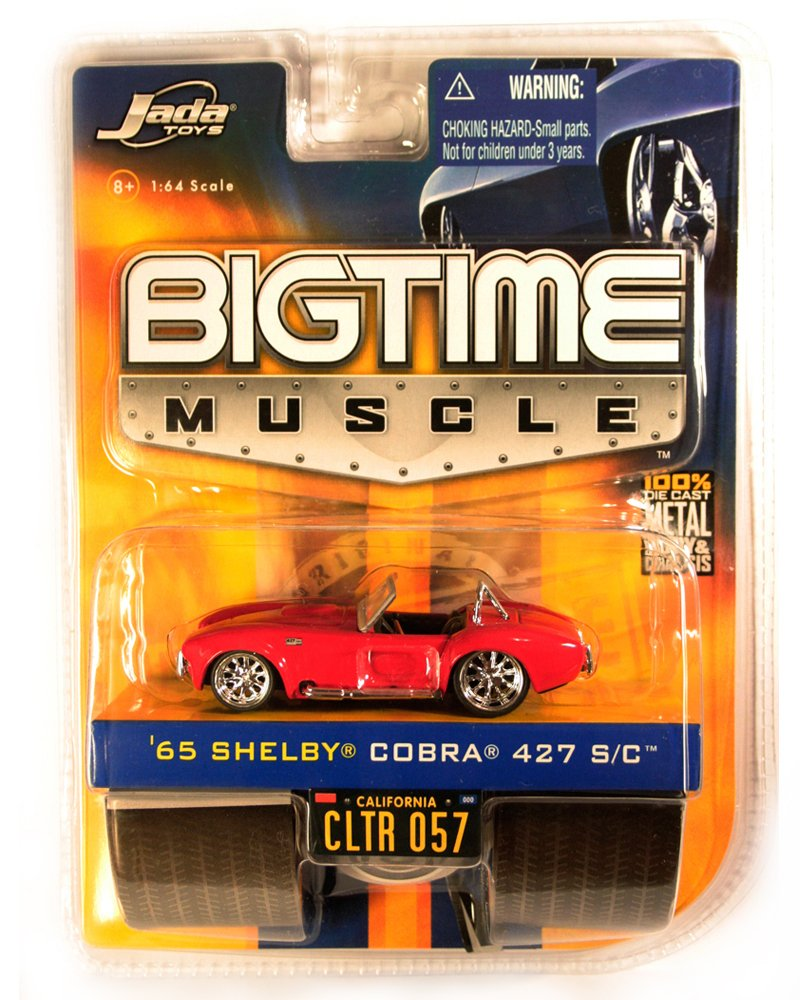 Jada BigTime Muscle 1965 Shelby Cobra 427 S/C