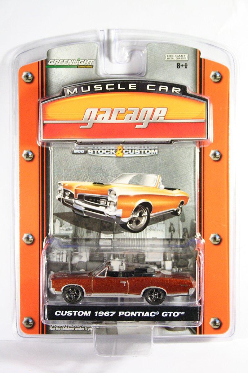 GreenLight Custom 1967 Pontiac GTO Muscle Car Garage Stock & Custom Series 1