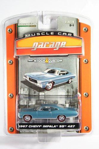 GreenLight 1967 Chevy Impala SS Muscle Car Garage Stock & Custom Series 1