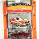 GreenLight Custom 1969 Ford Mustang Mach 1 Muscle Car Garage Stock & Custom Series 1