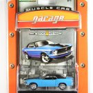 GreenLight 1970 Ford Mustang Muscle Car Garage Stock & Custom Series 1