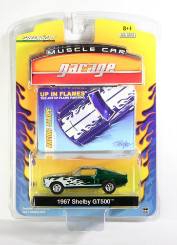 GreenLight 1967 Shelby GT GREEN MACHINE LICENSED SAMPLE