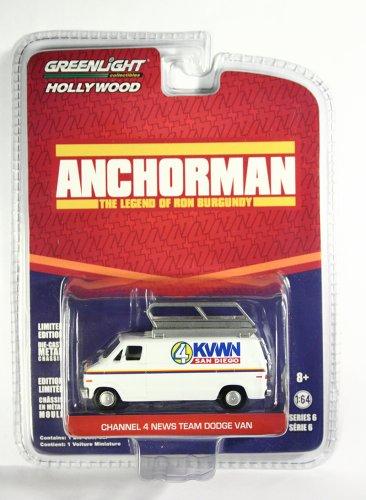 GreenLight Channel 4 News Team Dodge Van Anchorman
