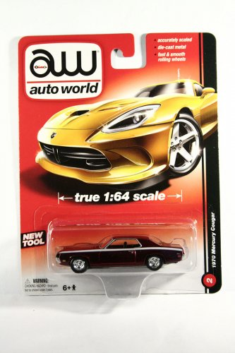 Auto World 1970 Mercury Cougar ULTRA RED CHASE