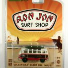 GreenLight GREEN MACHINE Volkswagen Samba Bus Woody Ron Jon Surf Shop Exclusive