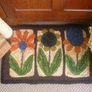 Primitive Flowers Rug Hooking Pattern