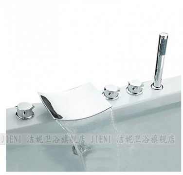 NEW**Tub shower faucet with handshower chrome finish WJT-1