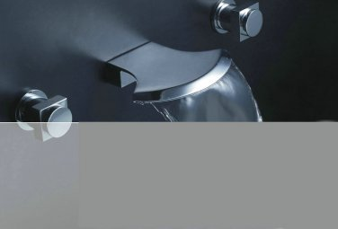 NEW**deck mount Waterfall basin Faucet chrome finish JN-8821A