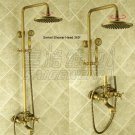 NEW** wall mount shower  Faucet antique brass finish sw-86056