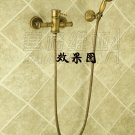 NEW** wall mount shower  Faucet antique brass finish sw-sw-86050