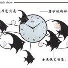 Ocean Talk Metal Wall Clock