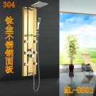 Stainless steel Rainfall Shower Panel Tower Tub Faucet Spout 6 Body Massage Jets ML-8881