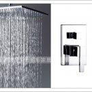 NEW**ceiling mount Super rainfall shower  Faucet  chrome finish 5859-40