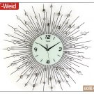 "24"" Modern Design Iron Wall Clock"