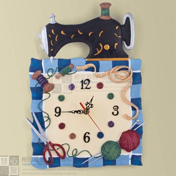 Resin Wall Clock-2