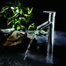 NEW Contemporary rainfall basin Faucet chrome finish MS11H