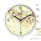"""8""""Country Theme Metal Wall Clock  169"""
