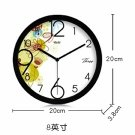 "8""Country Theme Metal Wall Clock  372"
