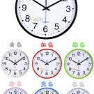 Accurate Round Mute Wall Clock(Color Randomly Sent)
